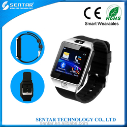 GSM watch mobile phone with bluetooth sync function 3.0M camera MTK 6260 Smart Watch Phone