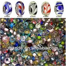 high quality murano single core glass beads wholesale