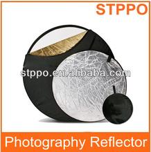 """Stppo 110cm 5 en 1 Fotografía plegable de la luz del disco reflector de 43 """""""