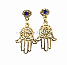 Wholesale Fashion Earrings Jewelry Accessories Blue Bergamot Stud Earring Accessories