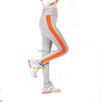 2015 New arriver spring & autumn yoga sports cotton pants leg