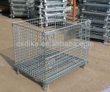 foldable wire mesh container cage