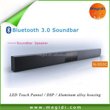 Home theatre Soundbar with bluetooth and LED Touch Screen Optical fiber access
