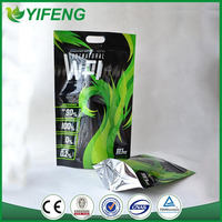 whey protein powder food plastic package zipper bag