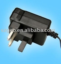 15W Switching AC/DC Adapters & Chargers for England Market