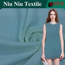 2016 Jacquard Dress Fabric Jacquard Jersey Knit Fabric Woven Jacquard Elastic
