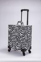 zebra tattoo PVC rolling cosmetic case