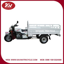 Africa market hot selling 200cc white air-cooled engine cheap adult tricycle with knee plate
