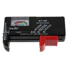 AA/AAA/C/D/9V/1.5V Universal BT168 Button Cell Battery Volt Tester Checker
