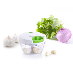 XINCI A02 Manual Food Chopper,Compact & Powerful Hand Held Vegetable Chopper / Mincer / Blender