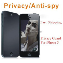 PET Privacy Clearly protected series screen protector for phone 5s 6s and note3