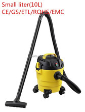 paper bag promtion palstic tank UL/CETL/CE/GSwet and dry vacuum cleaner small liter 10L for home and car