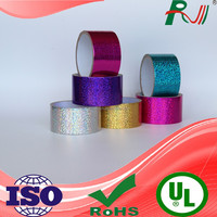 Wholesale alibaba waterproof reflective various laser duct tape