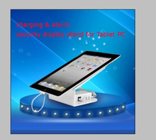 electronic shop and exhibition display retail tablet security devices