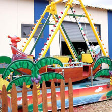 Hot selling playground equipment forest series with lowest price