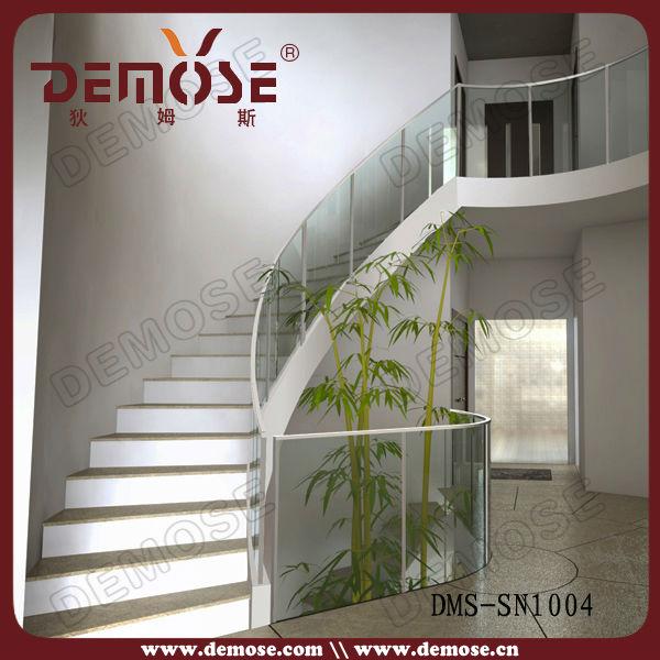 Interior barandales para escaleras interiores con moderno - Barandales modernos para escaleras ...