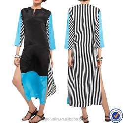 china wholesale pakistani designer long kurtis in casual kurti, latest 2015 designs long kurtis with long sleeves