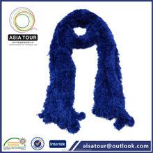2015 New Arrival Ladies Blue 100% Nylon Magic Neck Scarf and Hijab