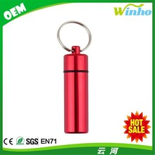 Winho Outdoors Medicine/Pill Keychain Storage Case