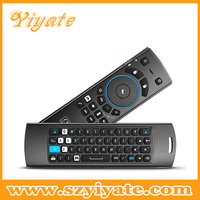For Android TV Box, Computer and TV Using 2.4g air mouse for android tv box Mele F10 Pro Wireless Air Mouse With QWERT Keyboard