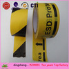 China Factory whosale colorful warning floor adhesive tape