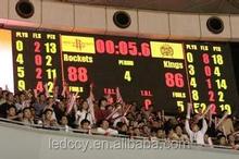 Alibaba Express xxx photos p10 led basketball digital scoreboard