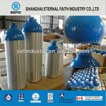 Aluminum Gas Cylinder Container