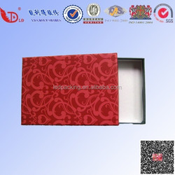 Durable and unique red gift box with good quality/wholesale gift box for sale