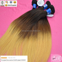 A&R Handsome Virgin Straight Brazilian Hair Two Tone Color