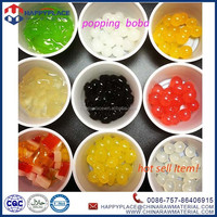 popping boba for taiwan pearl tea, fruity popping pearl balls, popping boba jelly balls