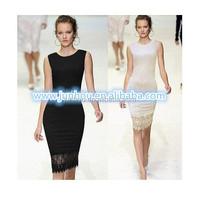Ladies designed Elegant Tunic Lace Crochet Bodycon Shift Party Evening Career Pencil Dress plus size SV001577