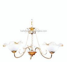 special upward glass pendant light/comtemporary family chandelier light E27
