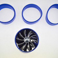 Cheap Good Quality Turbocharger Modified Car Sided Wheel Turbine Impeller Fan Turbo Kit
