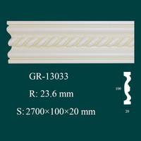 building materials PU foam moldings interior decorative items for home