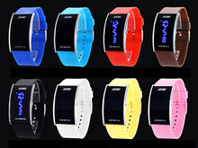 skmei led movt boys and girls water resistant wristwatch set