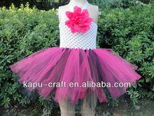 Wholesale new model girl tutu dress, plain dresses toddler girls
