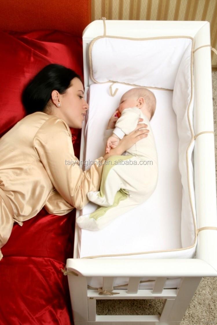 Mooie grenen houten bed voor baby 0 3 jaar baby wieg bed baby bed ...