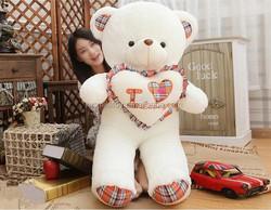 Huge teddy bear/Giant teddy bear/Top selling fashion stuffed soft 160cm teddy bear plush toy