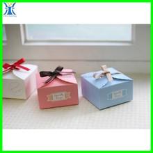 Yiwu 2015 New Arrived decorative handmade elegant recycle custom printing folded cute paper cake box