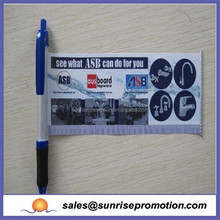 2015 Best Selling Promotional Retractable Banner Pens,Flag Pen