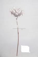 EVA Single stem artificial flowers for christmas and home decoration
