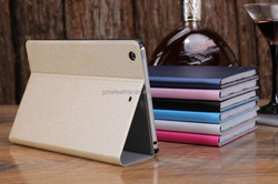 ultran slim body smart case cover pc and pU leather for ipad Mini 3