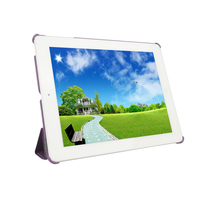 Flip Design Folio Case For iPad2 Smart Case with Retina Display (iPad 4th Generation) Purple