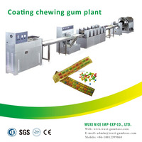 chewing gum manufacturer processing full set high capacity chew tablet candy plant