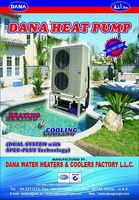 Water Heating Cooling Pump for Swimming Pools , villas , hotels , villas in uae , qatar , oman , saudi arabia , riyadh