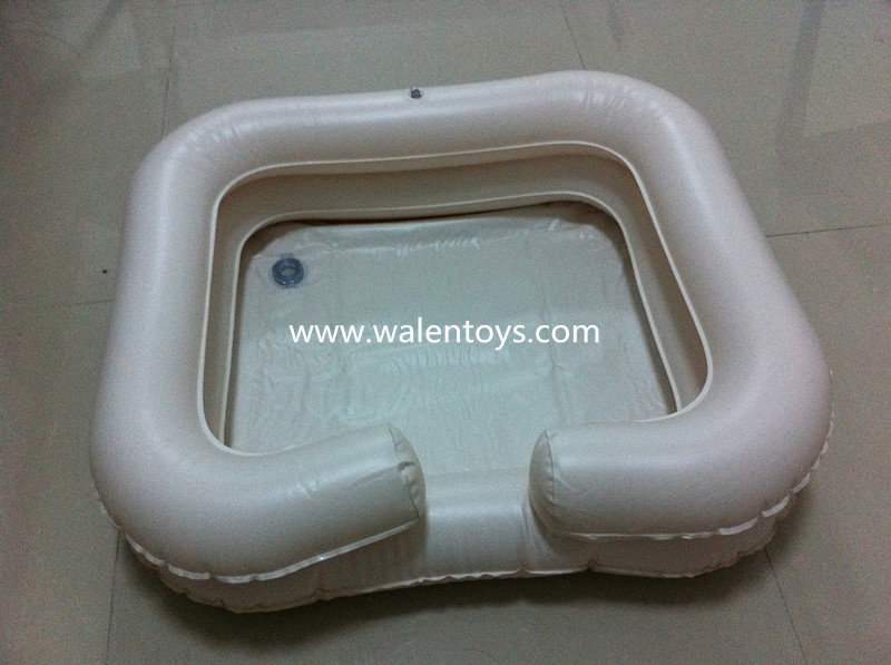 Aidapt Inflatable Portable Basin Sink Wash Hair In Bed
