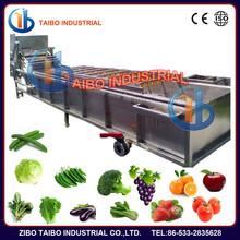 Hot sale spiral fruit and vegetables cleaning machine,orange/ apple/ lemon fruit washing machine