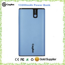 Two Outputs and Led 13200mAh mobile bank power portable mobile battery bank portable phone charger portable power