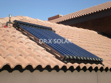 Solar Manifold Collector Type and Water Heater Application vacuum tube solar collector