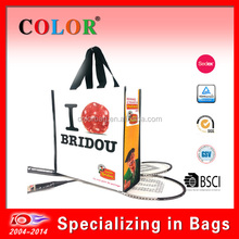 durable pp non woven promotion bag, shopping tote bag